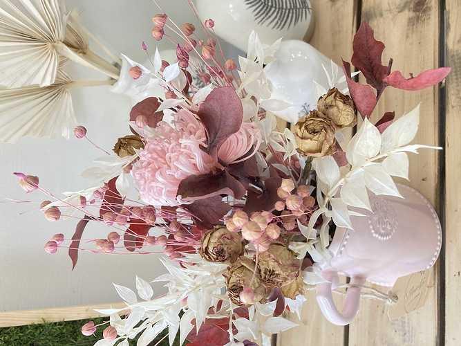 Bouquet de Fleurs séchées avec son vase photo09-07-2021114735